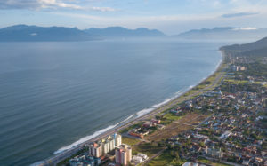 Aerial photo of Massaguaçu and Ilhabela